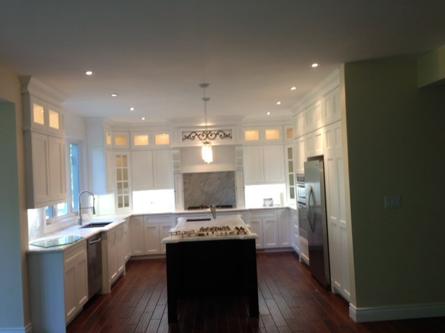 Kitchen lighting - Pot Lights Residential electrical work