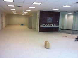Auto Dealer Showroom - Lighting Commercial electrical work