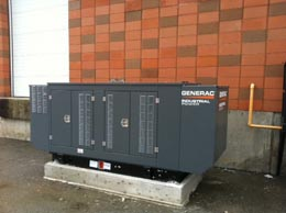 Diesel Backup Power Generator Commercial electrical work
