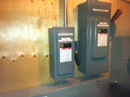 Main Switches 600V Commercial electrical work
