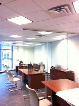 Office Lighting Commercial electrical work