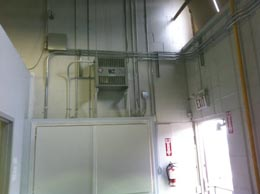 Secure Distribution Panel Commercial electrical work