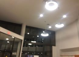 Ceiling Lighting, Medical Building, Oakville