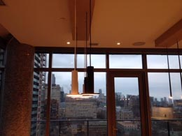 Dining Illumination, Toronto Condo