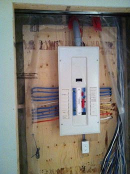 Residential Electrical Distribution Panel