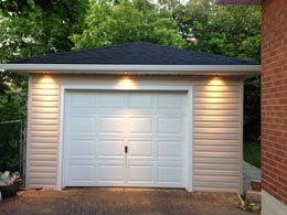 Outdoor Garage Lighting - LED Lights