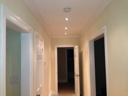 Interior hall lighting - Pot Lights